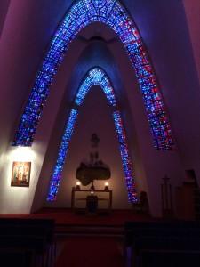 Kirkja 14. febrúar altari